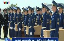 Ukraine hoàn tất việc đưa thi thể nạn nhân MH17 về Hà Lan