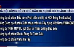 Hà Nội công bố 74 chủ đầu tư nợ sổ đỏ khách hàng