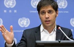 Argentina cận kề nguy cơ vỡ nợ