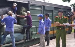 21 tấn hàng lậu trên tàu thống nhất Bắc - Nam bị bắt giữ