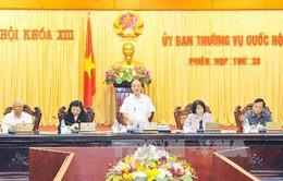 Khai mạc phiên họp 30 Ủy ban Thường vụ Quốc hội