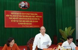 Phó Thủ tướng Nguyễn Xuân Phúc làm việc tại tỉnh Trà Vinh