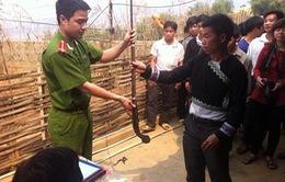 Lai Châu thu hồi vũ khí, vật liệu nổ, công cụ hỗ trợ