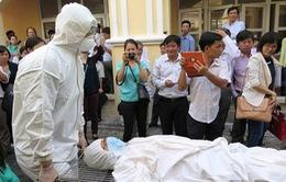 Diễn tập phòng chống dịch bệnh do virus Ebola tại TP Hồ Chí Minh