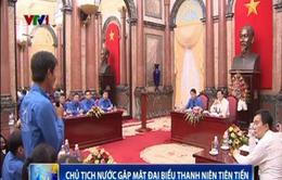 Chủ tịch nước gặp mặt Đoàn đại biểu thanh niên tiên tiến làm theo lời Bác
