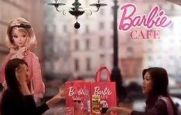 Ghé thăm quán cà phê Barbie đầu tiên trên thế giới