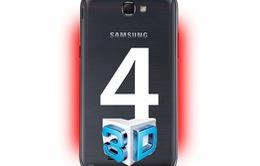 Samsung Galaxy S4 sở hữu camera 3D?