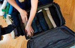 Mách bạn cách xếp đồ trong vali du lịch