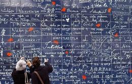 """Khám phá bức tường """"I love you"""" nổi tiếng Paris"""