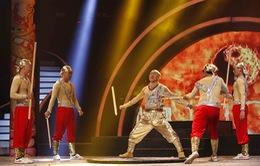 Kungfu Lý Bằng tạo kết trọn vẹn cho đêm Chung kết