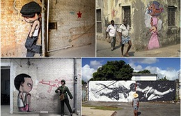 """""""Họa sỹ toàn cầu"""" Julien Malland và nghệ thuật graffiti"""