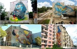 Lang thang trên con phố nghệ thuật ở Ba Lan