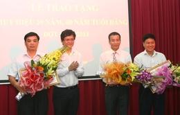 Đài THVN trao tặng huy hiệu 30, 40 năm tuổi Đảng