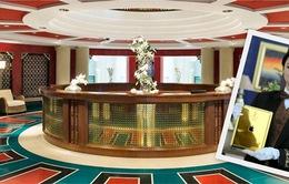 """Choáng với """"dịch vụ vàng"""" ở khách sạn 7 sao Burj Al Arab"""
