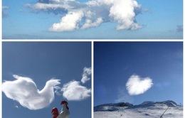 Kỳ thú hình dạng những đám mây