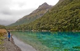 Blue Lake - hồ nước sạch nhất thế giới