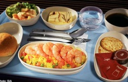 Những món ăn giúp giảm căng thẳng khi đi máy bay