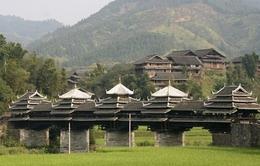 Độc đáo kiến trúc cầu Phong Vũ ở Trung Quốc