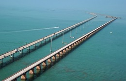 Tít tắp cầu Bảy Dặm ở Florida
