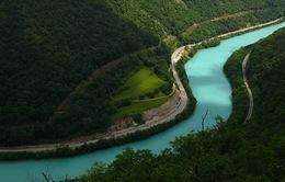 Xanh biếc dòng sông Soca