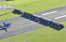 Lạ lùng sân bay giao đường sắt ở New Zealand