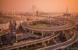 Độc đáo kiến trúc cầu Nanpu, Trung Quốc