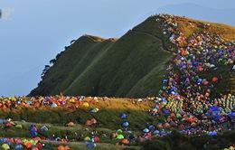 Rực rỡ sắc màu lễ hội cắm trại quốc tế 2013