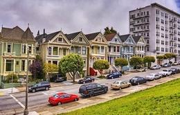 Mãn nhãn dãy nhà lộng lẫy sắc màu ở San Francisco