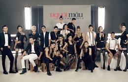 Top 18 VNTM 2013 cá tính trong trang phục đen trắng