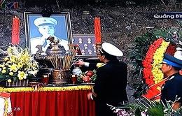 Đại tướng Võ Nguyên Giáp an nghỉ trong lòng đất mẹ Quảng Bình