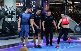"""Á hậu Hoàng My, Nhan Phúc Vinh """"cân sức"""" với top 11 VNTM 2013"""