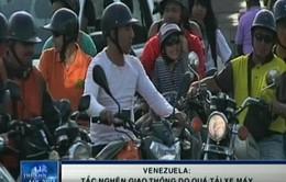 """Xe máy Trung Quốc là """"bệnh dịch"""" của Venezuela?"""