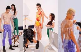 VNTM 2013 tập 6: Top 11 khoe dáng trong trang phục trong suốt