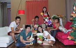 Top 6 VNTM 2013 rộn ràng đón Giáng sinh