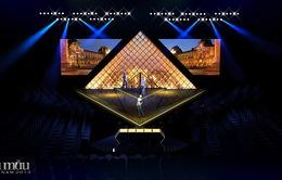 """VNTM 213 """"mang"""" bảo tàng Louvre lên sân khấu đêm Chung kết"""