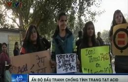 Phụ nữ Ấn Độ dũng cảm đấu tranh chống tình trạng tạt acid