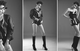 Quán quân VNTM 2013 cá tính trong bộ ảnh mới