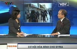 """""""Hy vọng Hội nghị Geneva II sẽ có một số thỏa hiệp làm dịu tình hình Syria"""""""