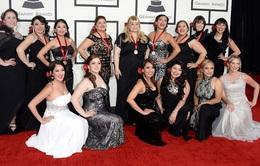 Ngắm dàn sao trên thảm đỏ Grammy 2014