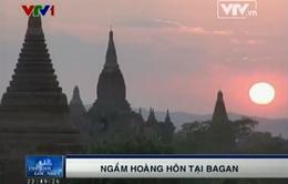 Ngắm hoàng hôn tại vùng đất cổ Bagan
