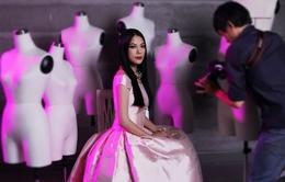 Trương Ngọc Ánh sang trọng với thời trang Christian Dior