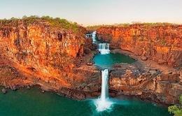 Ngắm thác nước 4 tầng tuyệt đẹp ở miền Tây nước Úc