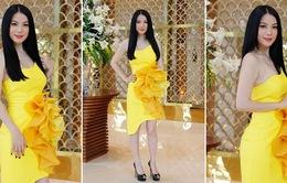 Trương Ngọc Ánh diện đầm quyến rũ chấm thi Project Runway