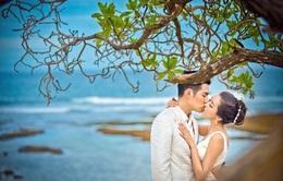 """Sao """"Mỹ nhân tâm kế"""" khoe ảnh cưới lãng mạn ở Bali"""
