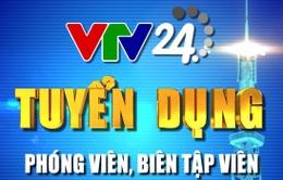 VTV24 thông báo danh sách trúng tuyển đợt 1 - chức danh Quay phim