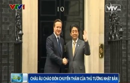 Châu Âu chào đón chuyến thăm của Thủ tướng Nhật Bản