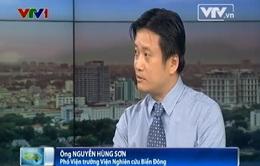 Vụ TQ đặt giàn khoan trái phép: Việt Nam cần cương quyết giải quyết tranh chấp bằng biện pháp hòa bình