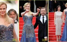 Nicole Kidman lộng lẫy như nữ hoàng tại thảm đỏ Cannes 2014