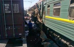 Va chạm tàu hỏa ở Nga, ít nhất 5 người thiệt mạng