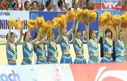 """Hoạt náo viên - những """"người truyền lửa"""" cho các vận động viên VTV Cup 2014"""